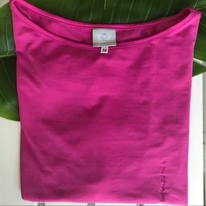 VERSACE JEANS COUTURE HOT PINK 3/4 SLEEVE TOP
